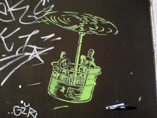 Gyrocopter (Stencil)