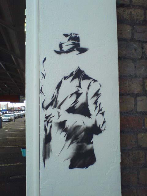 Invisible Man (Stencil)