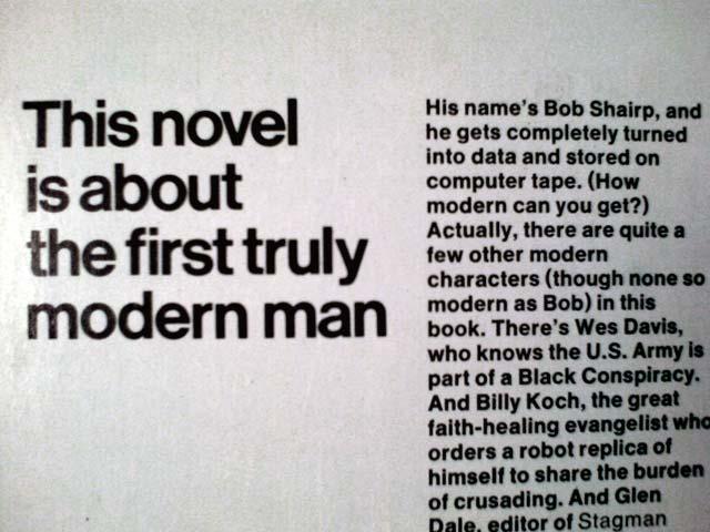 Truly Modern Man?