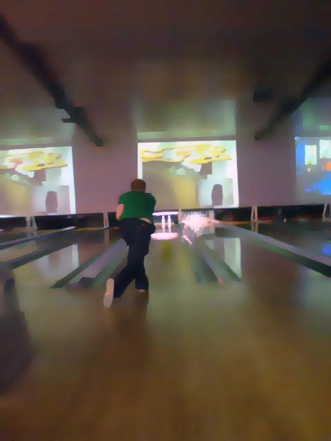 Zach about to get another strike.