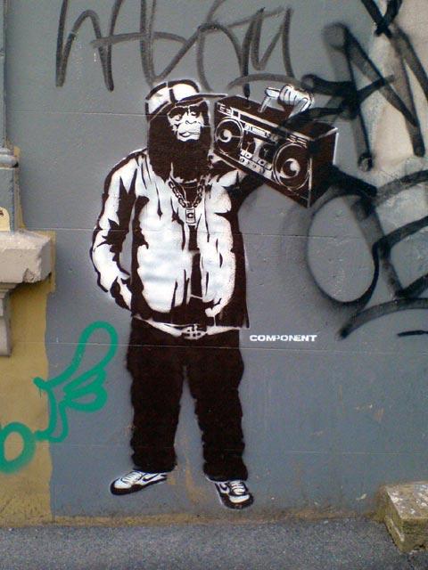 Primate Ghettoblaster