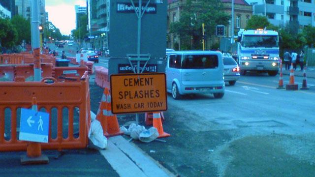 Cement Splashes